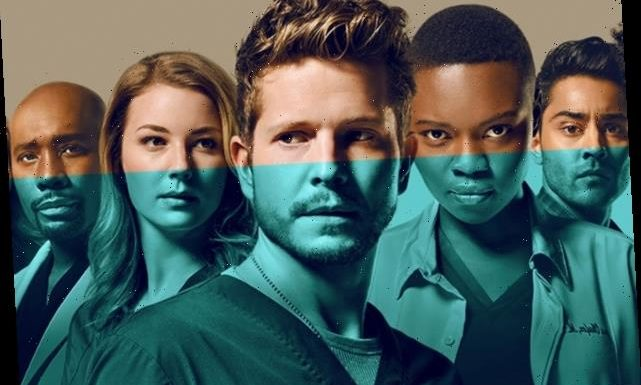 The Resident: Chastain Park's Doctors Are Feeling Blue in Season 4 Poster