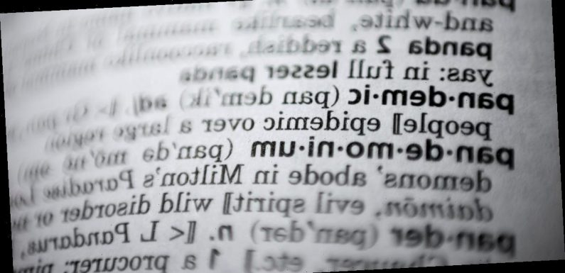 Merriam-Webster announced its 2020 word of the year: pandemic