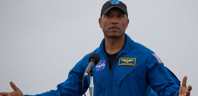 Victor Glover will be the first Black crew member on the space station.