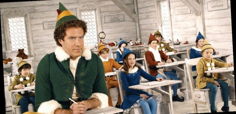 Elf movie secrets from vomit and traffic chaos to babies sacked for crying
