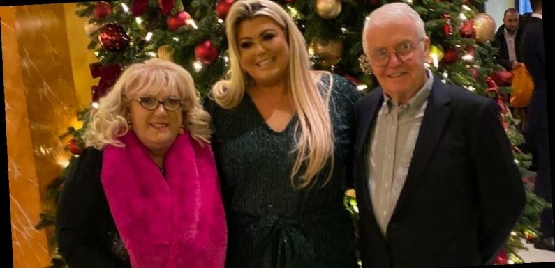 Gemma Collins' dad sobs he'd 'rather be dead' as he battles Covid in hospital