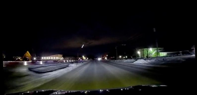 Man captures mysterious bright light shooting from ground into sky at high speed