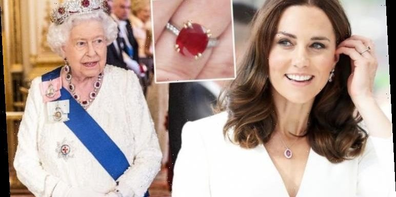 Kate Middleton has £170,000 ring and necklace set with link to Queen's 'iconic' tiara