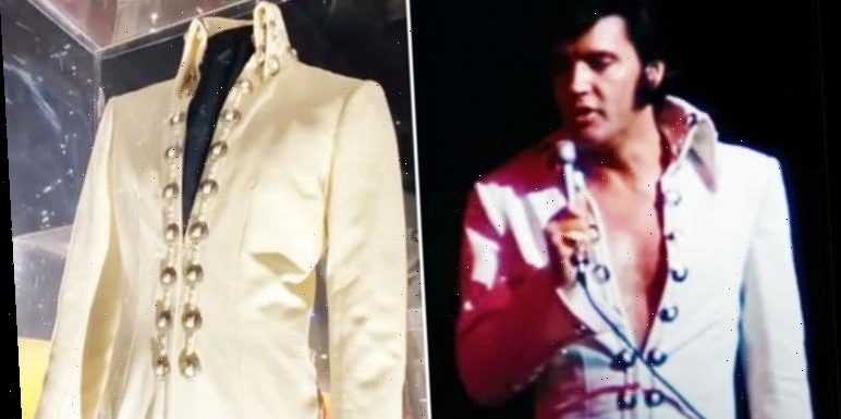 Elvis Presley: Graceland share FASCINATING facts about King's Las Vegas jumpsuits – WATCH