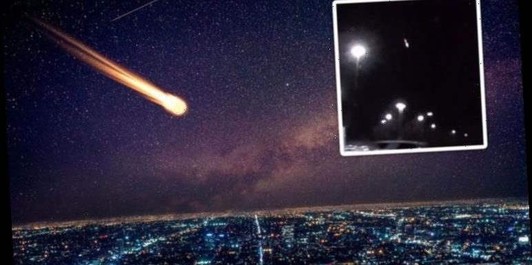 Fireball shoots over USA and Canada 'Once in a lifetime sighting' – video