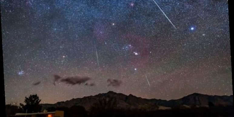 Geminids meteor shower 2020: Watch shooting stars live
