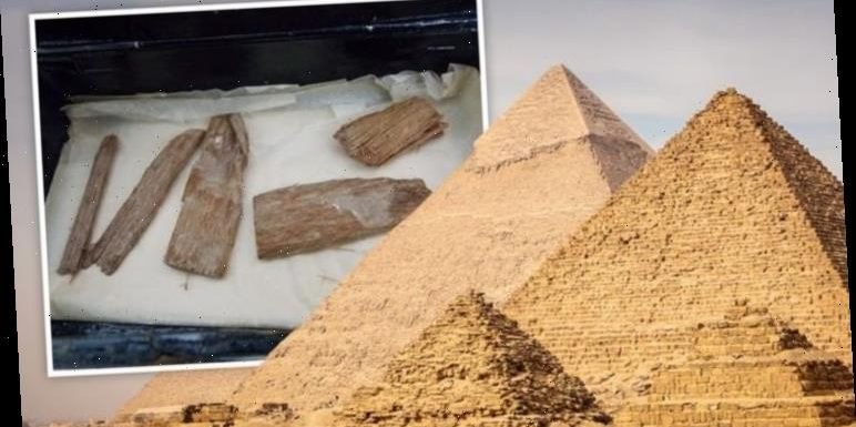 Egypt archaeology: 'Extremely rare' ancient Great Pyramid artefact discovered in cigar tin