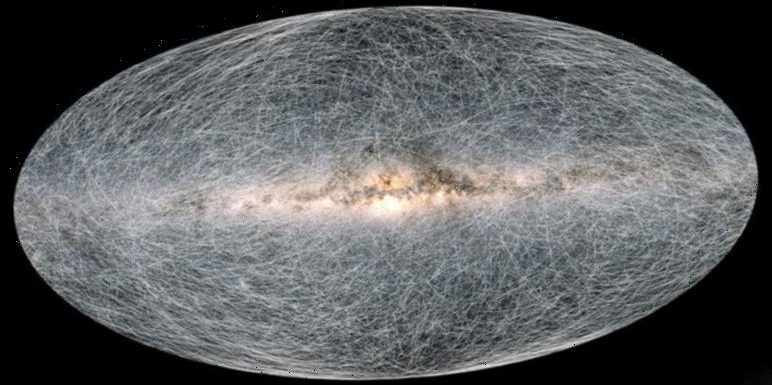 Breathtaking Milky Way timelapse shows how the night sky will change in 400,000 years