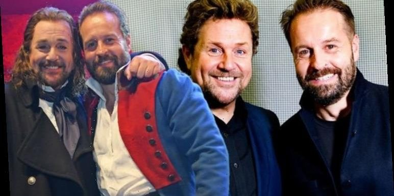 Michael Ball and Alfie Boe video: Watch Michael and Alfie sing Les Miserables together