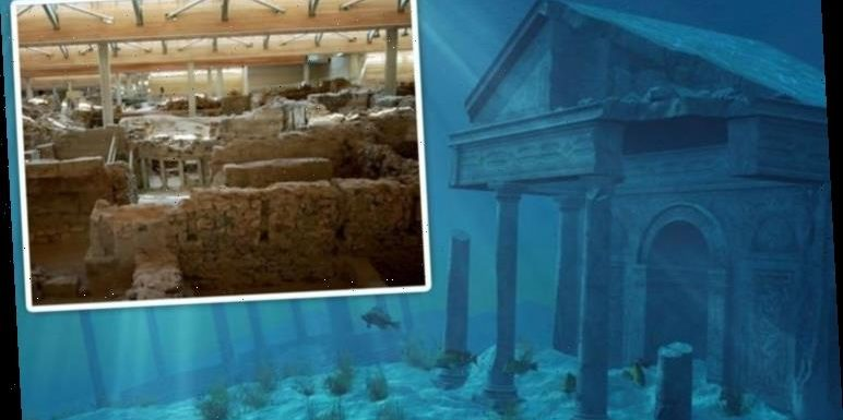 Atlantis found? 3,000-year-old city unearthed with paintings 'matching Plato's account'
