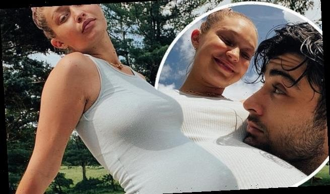 Gigi Hadid uploads never-before-seen photos from her pregnancy