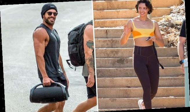 Zac Efron reunites with girlfriend Vanessa Valladares in the outback