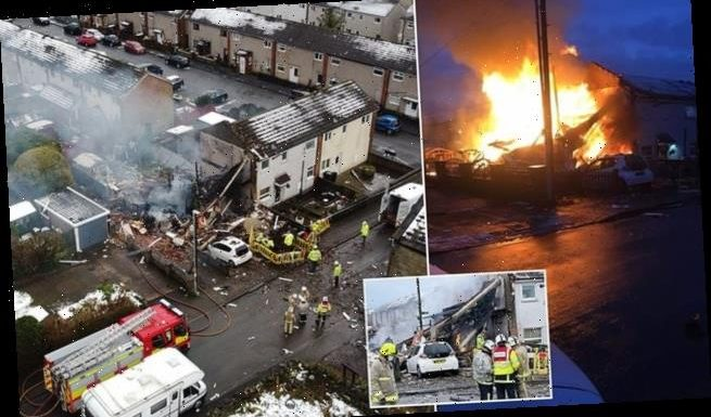 West Yorks family of three escape blazing home just before collapse