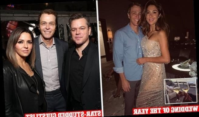 Pia Miller and Patrick Whitesell: Hollywood's biggest wedding of 2021
