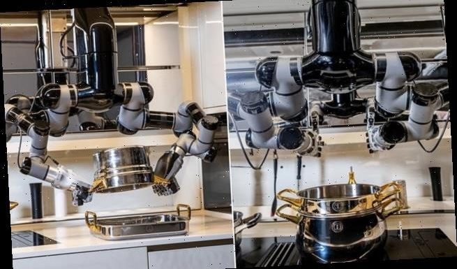Robotic kitchen assistant will cook 5,000 recipes from scratch