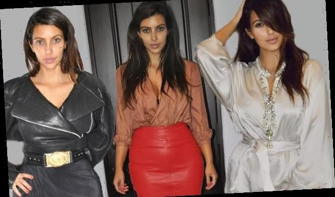 Kim looks unrecognizable in throwbacks from Miami