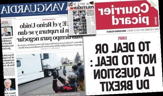 Europe's press reacts to Brexit deadline delay