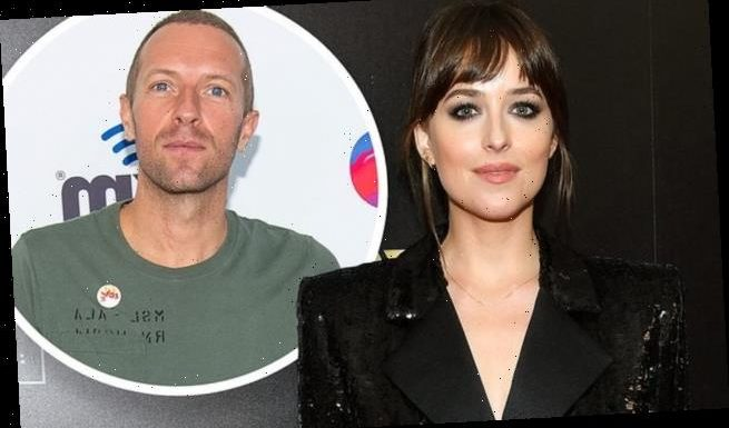 Dakota Johnson fuels engagement with Chris Martin with emerald ring