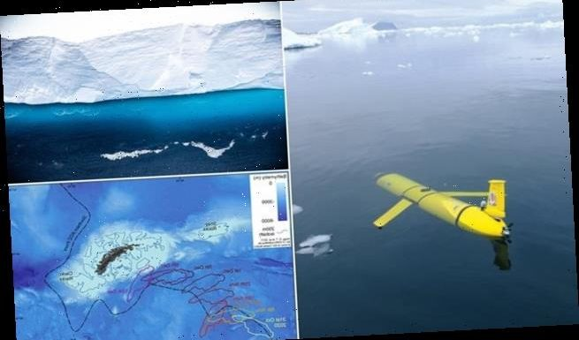 Underwater robots to study iceberg due to hit South Georgia