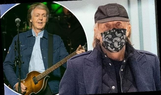 Sir Paul McCartney, 78, admits he likes wearing a mask