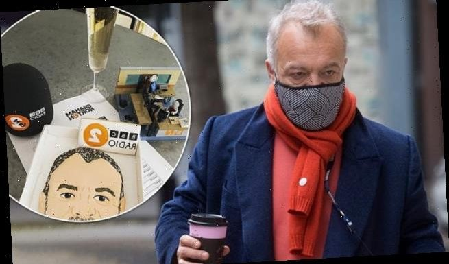 Graham Norton leaves his LAST day at Radio 2 after 10 years