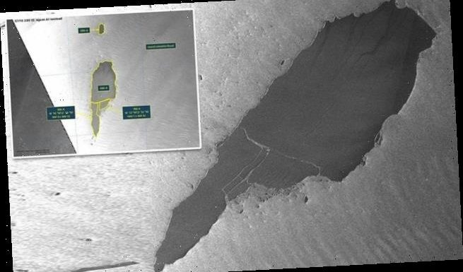World's largest free-floating ice berg  is breaking apart