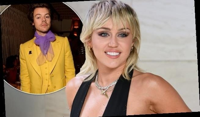 Miley Cyrus admits she would KISS Harry Styles under the mistletoe
