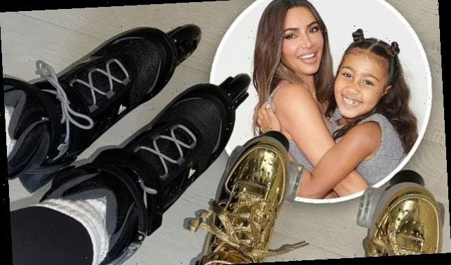 Kim Kardashian 'almost fell' while rollerskating with daughter North