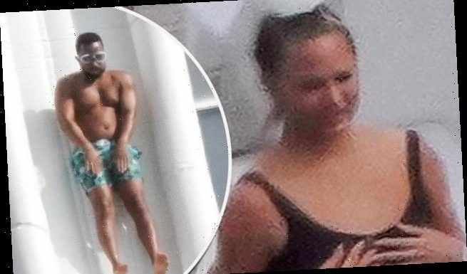 Chrissy Teigen and husband John Legend enjoy another day in paradise
