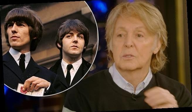 Paul McCartney claims he speaks to George Harrison through a TREE