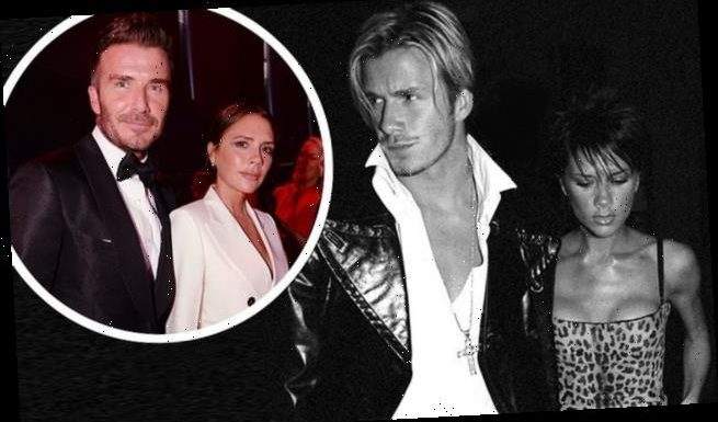 David and Victoria Beckham lead stars in unseen snaps from exhibition