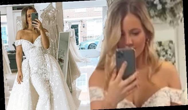 MIC's Tabitha Willett unveils her bridal gown as she reflects on 2020