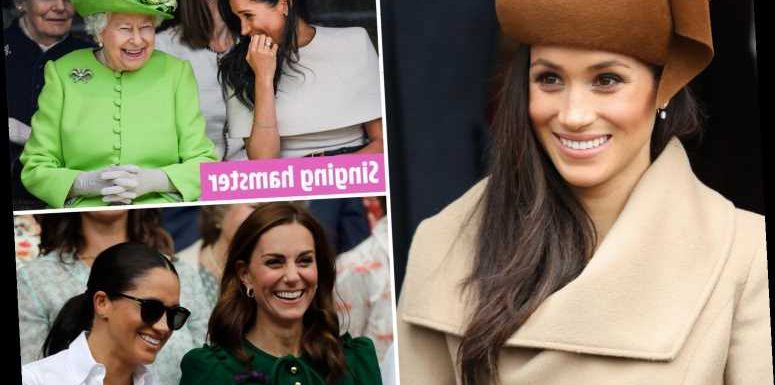 Meghan Markle's Christmas presents to Royals revealed- from William's 'cereal killer' spoon to singing hamster for Queen