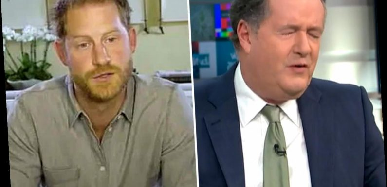 Piers Morgan slams Prince Harry for 'having 16 baths' while telling people 'imagine being a raindrop'