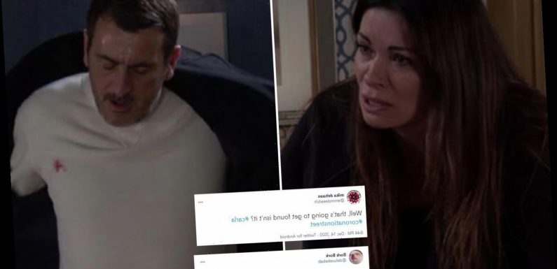 Coronation Street viewers rage at Carla Connor over major blunder as Peter Barlow is arrested for Adam Attack