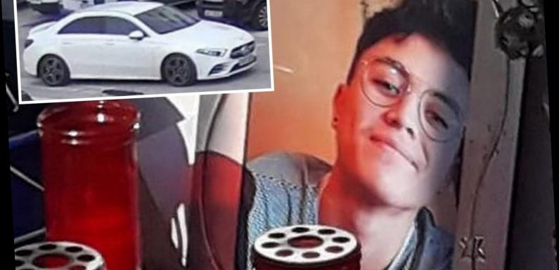 Cops seize UK car driven by 'road rage killer who stabbed Spanish teen'