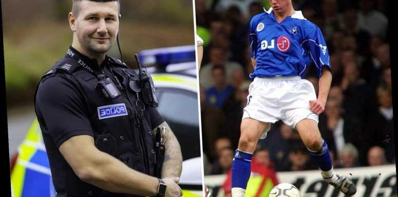 Former Premier League player Tommy Wright, 36, is now tackling crime after becoming a police officer