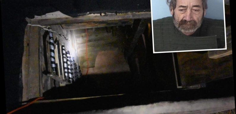 Secret bunker found at home of child abuse suspect 'who made sick videos of kids aged under 10'