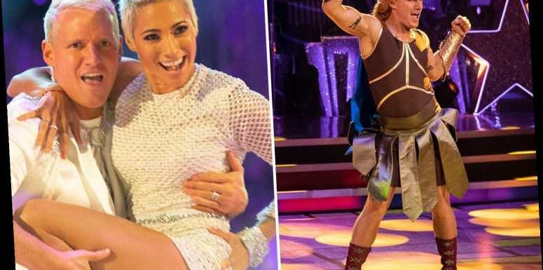 Strictly's Jamie Laing jokes he will 'marry' Karen if he wins and 'organise a parade where people will bow down to me'