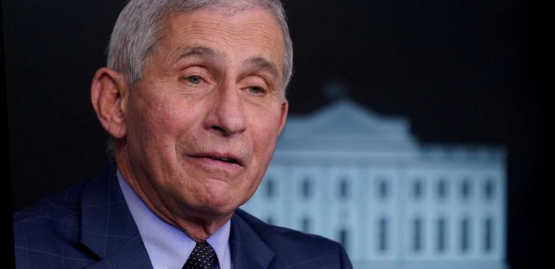 America's top medic Dr Fauci says Britain 'joined vaccine marathon at LAST mile' and 'rushed' through approval