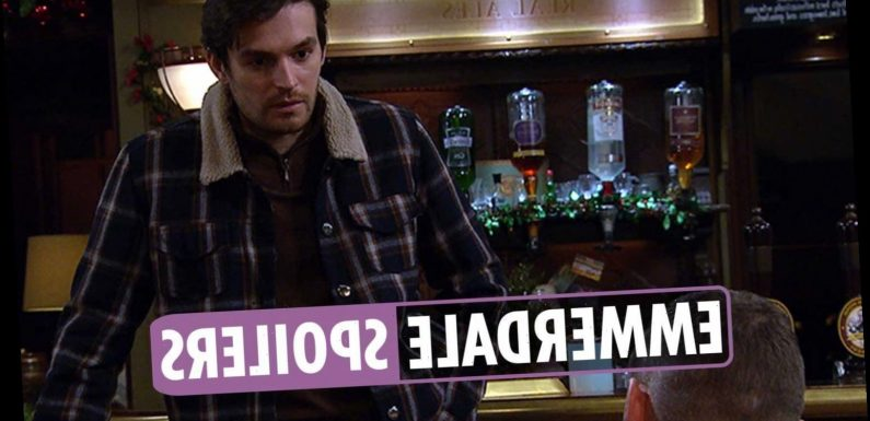 Emmerdale spoilers: Mack Boyd offers Aaron Dingle a job as they grow closer after flirtation
