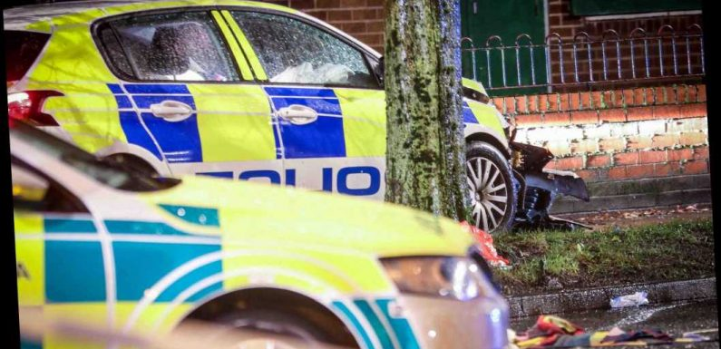Boy, 15, fighting for life after being hit by police car on a 999 call