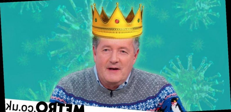 Piers Morgan's best moments during the pandemic in 2020