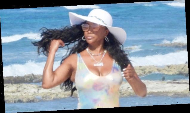 Vivica A. Fox, 56, Looks Incredible In Silver Swimsuit As She Enjoys Mexico Vacation