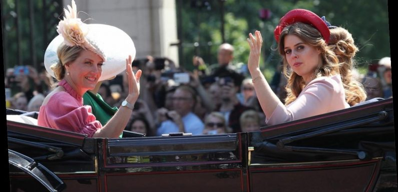 The Countess of Wessex takes style inspiration from Princess Beatrice with familiar-looking hat