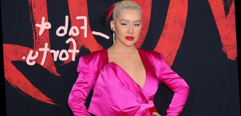 Christina Aguilera Shows Off Fab Figure For 40th Birthday!