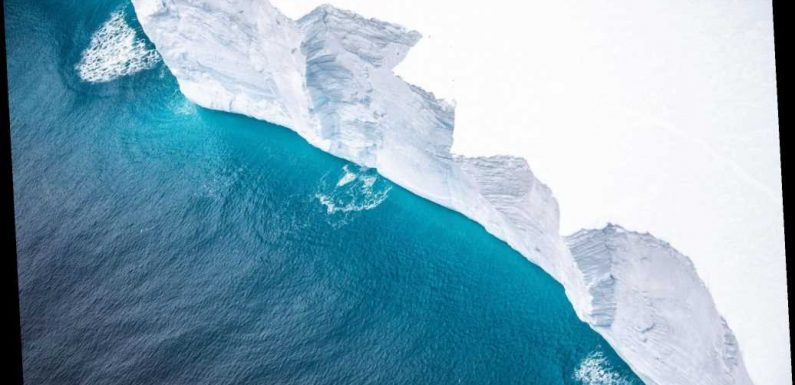 Iceberg the size of Delaware on track to slam into South Atlantic island