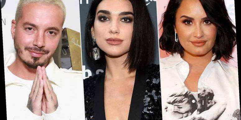 Dua Lipa, Demi Lovato and J Balvin Will Perform at YouTube's Hello 2021 New Year's Eve Event