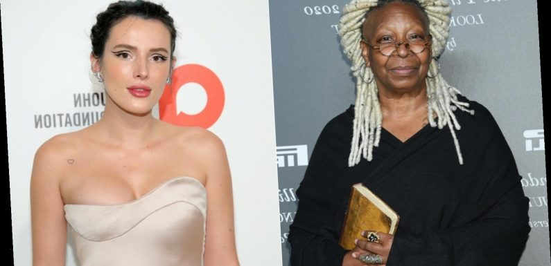 What really started Bella Thorne's feud with Whoopi Goldberg