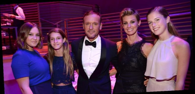 Tim McGraw & Faith Hill Have 'Game of Thrones' & 'Harry Potter' Themed Dinner Nights With Daughters